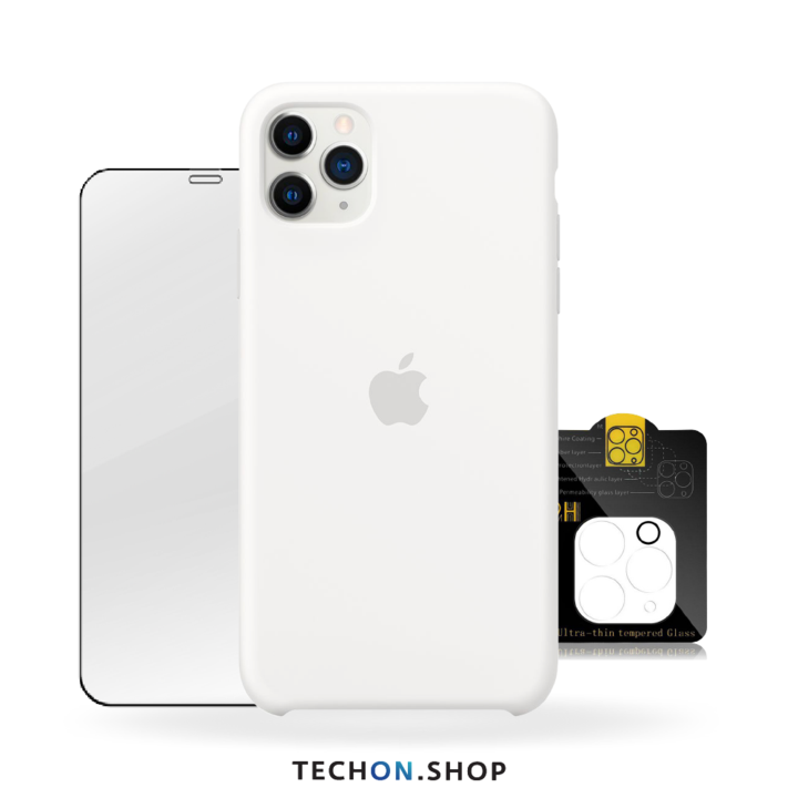 360° Protection Pack | iPhone 11 Pro - White