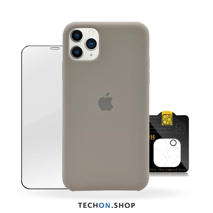 360° Protection Pack | iPhone 11 Pro - Dark Grey
