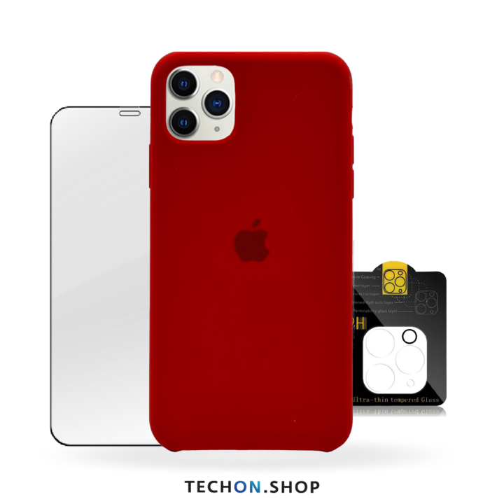 360° Protection Pack | iPhone 11 Pro - Red