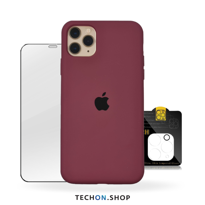 360° Protection Pack | iPhone 11 Pro - Bourdeaux