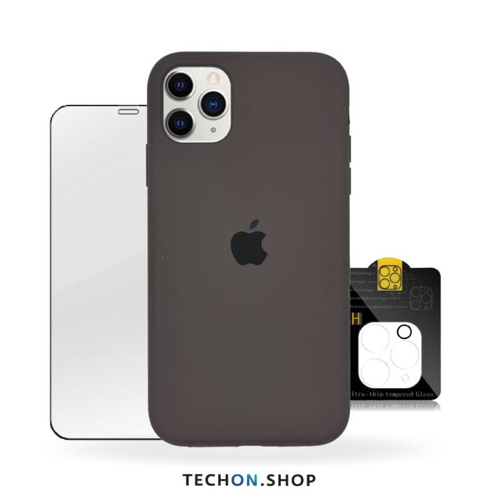 360° Protection Pack | iPhone 11 Pro - Charcoal