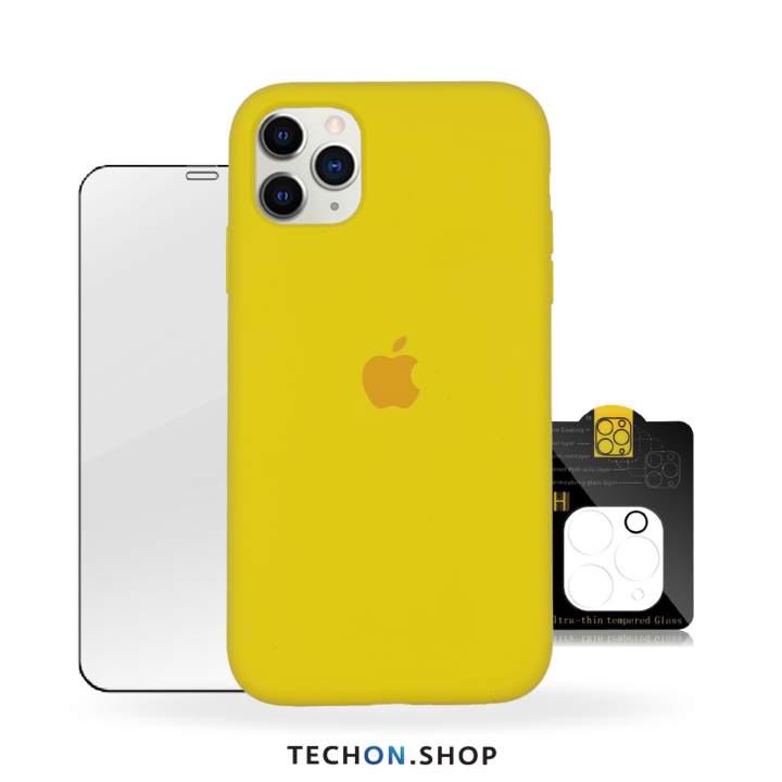 360° Protection Pack | iPhone 11 Pro - Yellow