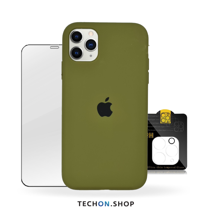 360° Protection Pack | iPhone 11 Pro - Army Green