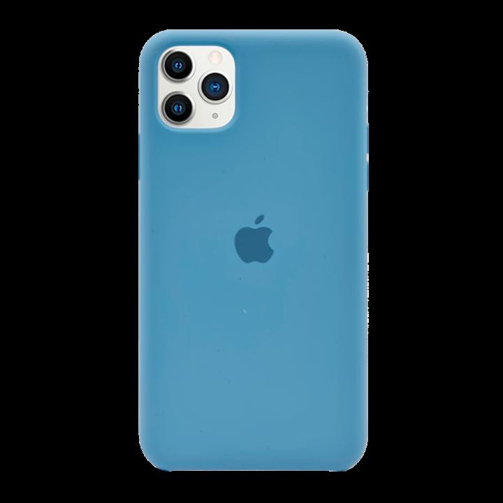 iPhone 11 Pro Max Silicone Case - Light Blue