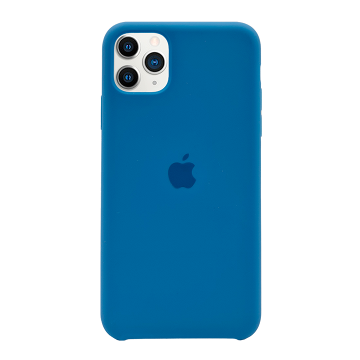 iPhone 11 Pro Max Silicone Case - Blue