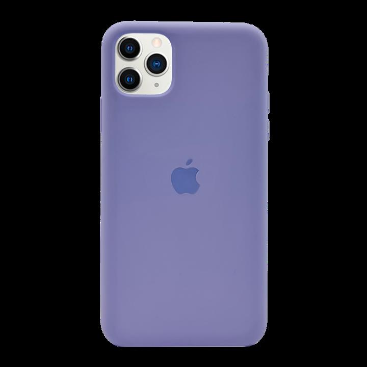 iPhone 11 Pro Max Silicone Case - Purple