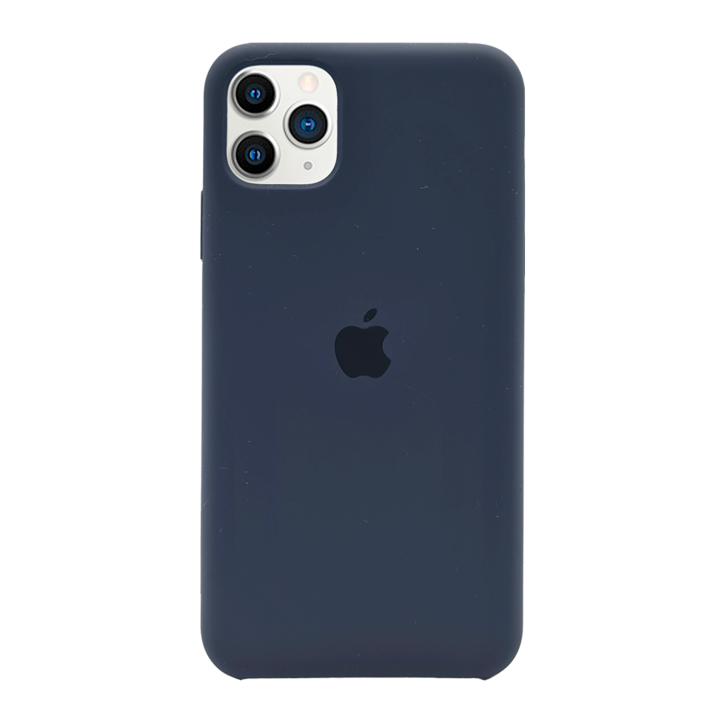 iPhone 11 Pro Max Silicone Case - Navy