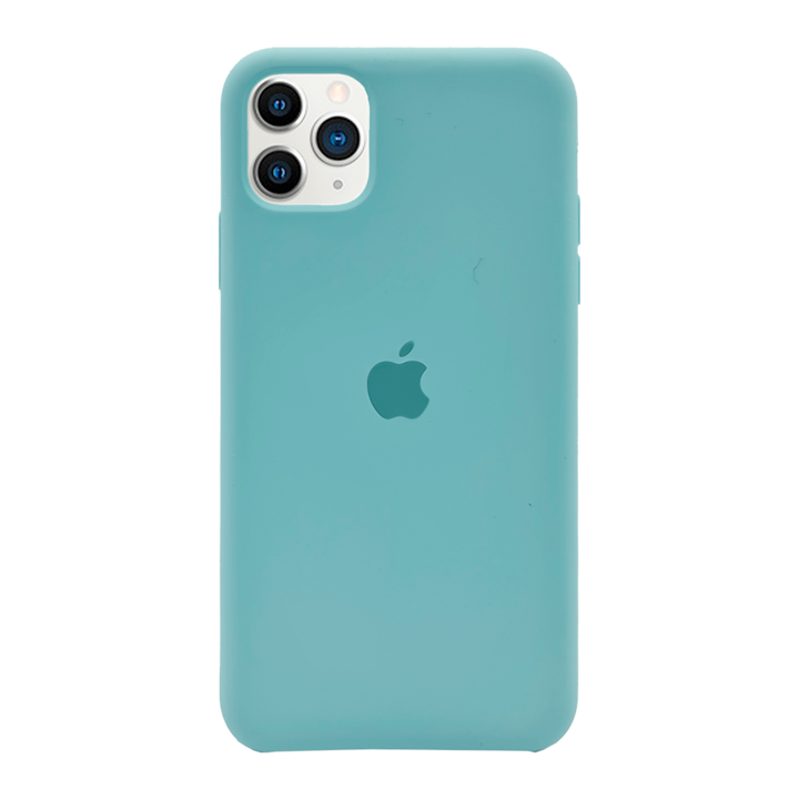 iPhone 11 Pro Max Silicone Case - Turquoise