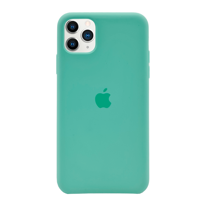 iPhone 11 Pro Max Silicone Case - Green