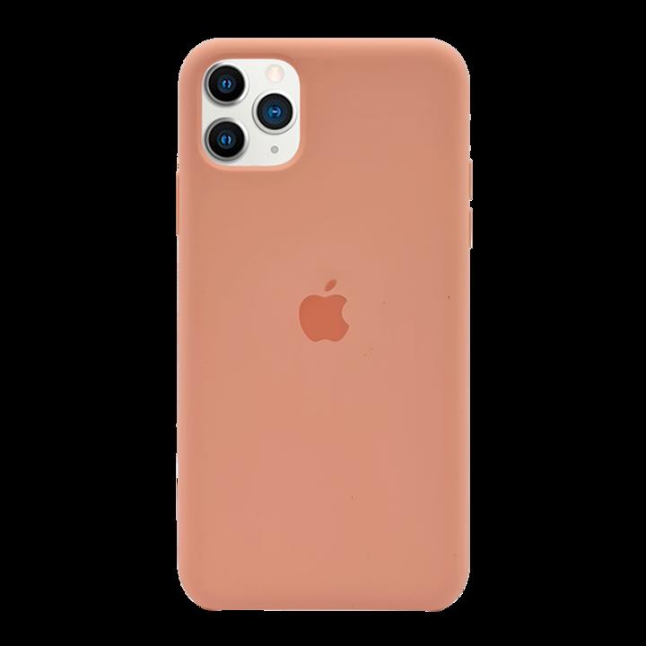 iPhone 11 Pro Max Silicone Case - Peach