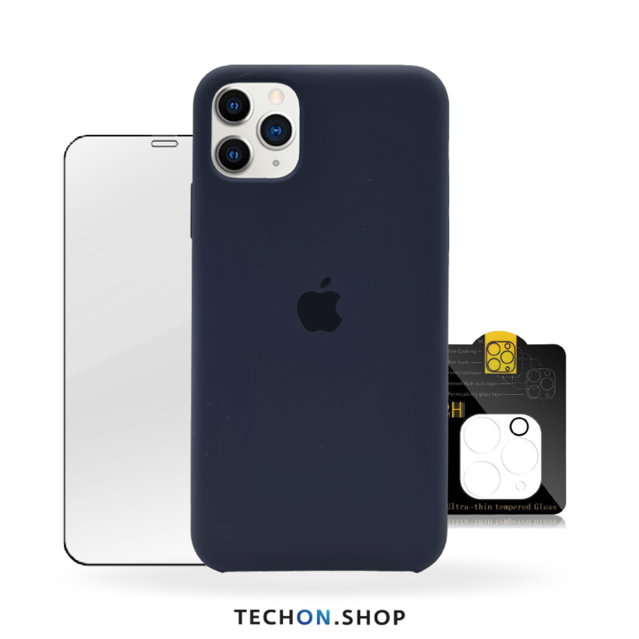 360° Protection Pack   iPhone 11 Pro Max - Navy