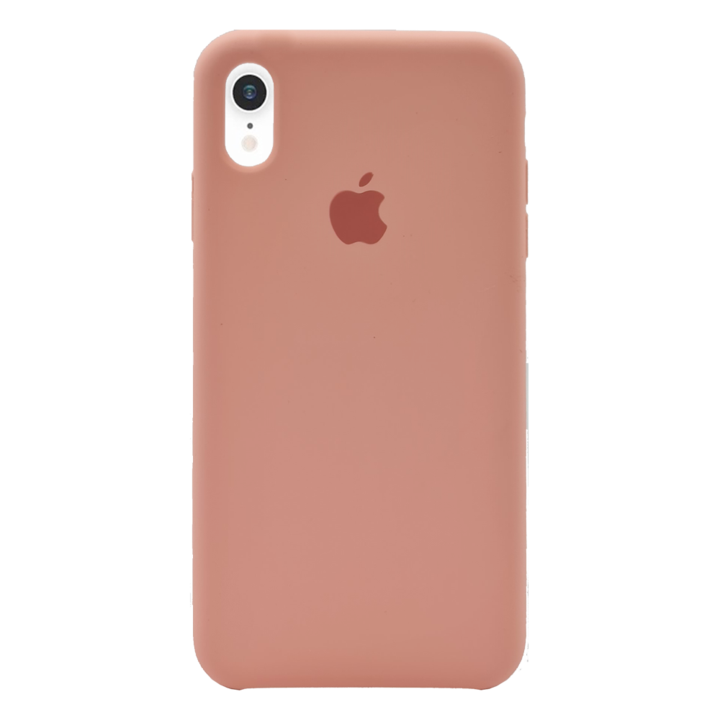 iPhone XR Silicone Case - Pink Beige