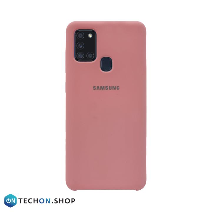 Samsung Galaxy A21s Silicone Case - Pink