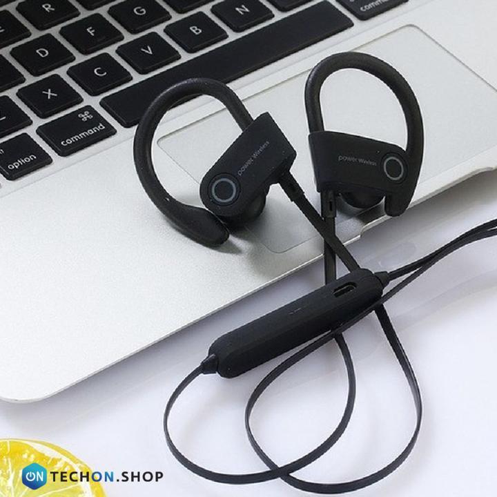 Bluetooth Earphones - Power - Black