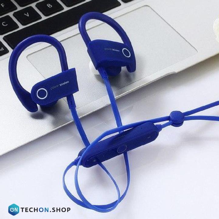 Bluetooth Earphones - Power - Blue