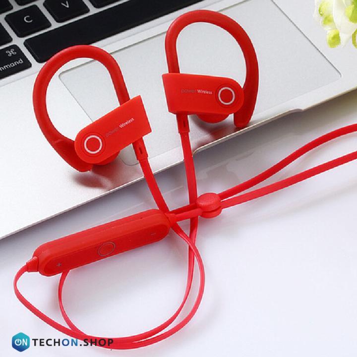 Bluetooth Earphones - Power - Red