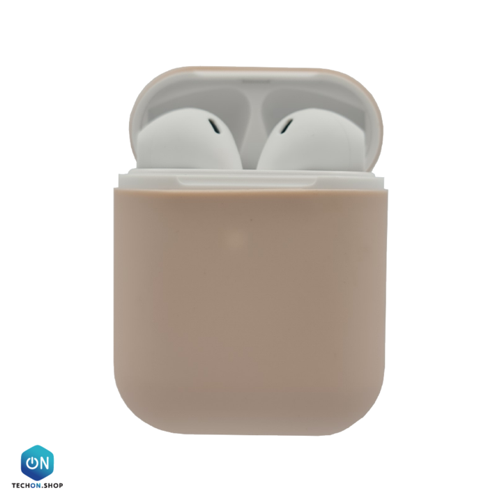 AirPods Cover Silicone - Pink Grey