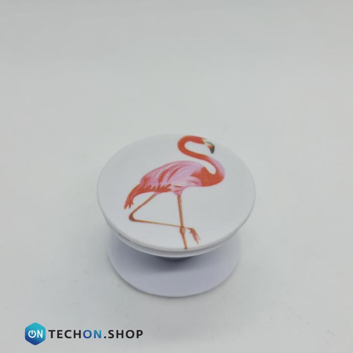 POP Socket - Flamingo White