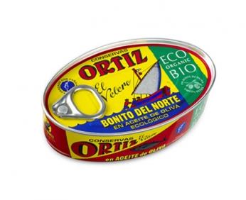 White Tuna in Organic Extra Virgin Olive Oil  112g
