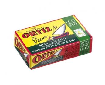 Yellofin Tuna in Organic Extra Virgin Olive Oil  112g