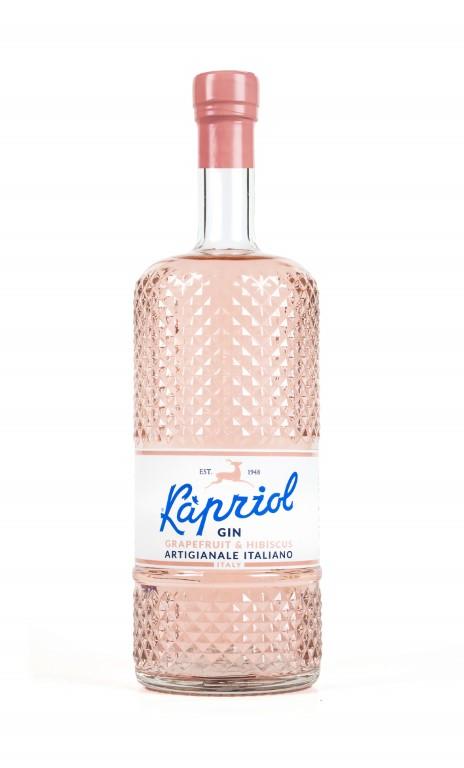 Kapriol Italian Gin Grapefruit & Hibiscus 70cl 40,7% alc.