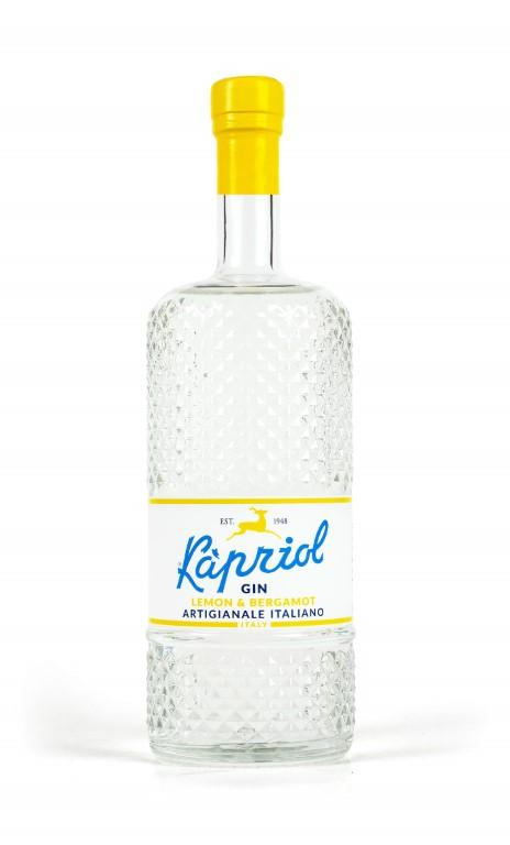 Kapriol Italian Gin Lemon & Bergamot  70cl 40,7% alc.