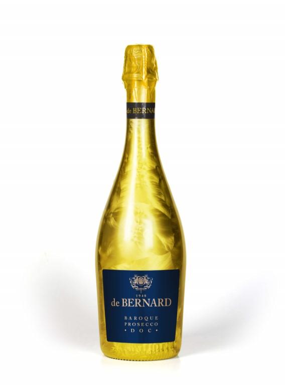Prosecco de Bernard Gold  Baroque DOC E.Dry 75cl 11% alc.