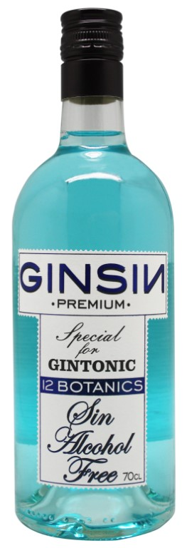 Ginsin alcohol free 12 botanicals 70cl