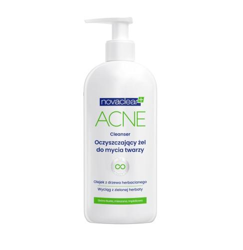 Novaclear Acne Cleanser face wash gel - 150 ml