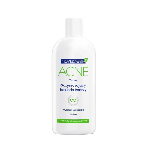 Novaclear Acne Cleansing Toner Face Tonic - 200 ml<br/>