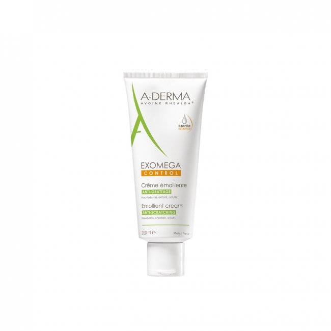 A-Derma Exomega Control Emollient Cream - 200ml<br/>