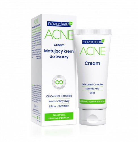 Novaclear Acne Mattifying Face Cream - 40 ml