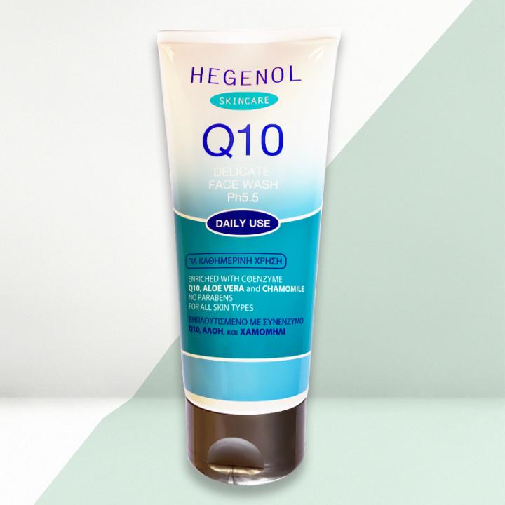 HEGENOL Q10 DELICATE FACE WASH 200ML