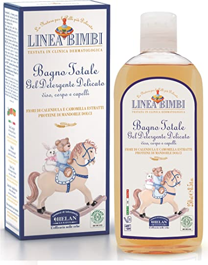 LINEA BIMBI TOTAL SHAMPOO BATH FOR FACE BODY AND HAIR 250ML