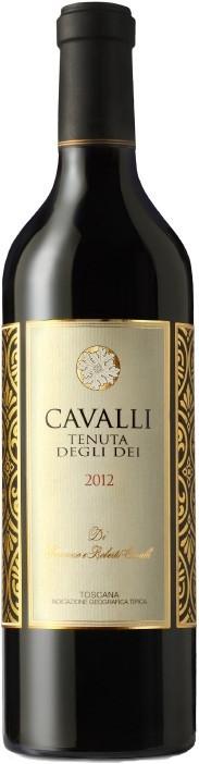 CAVALLI TENUTA DEGLI DEI 2012 75CL