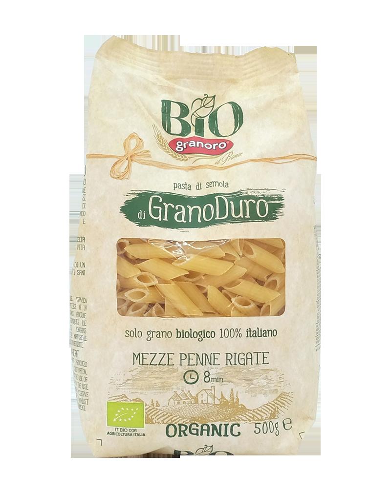 Granoro Bio Mezze Penne Rigate 500g