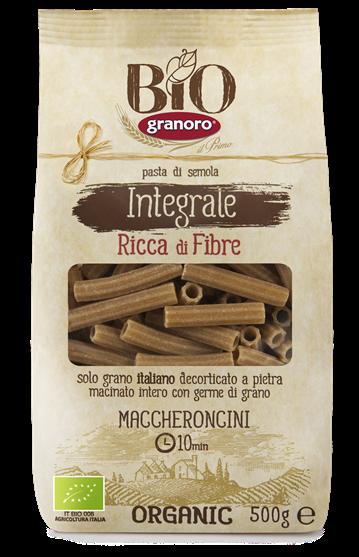GRANORO WHOLE WHEAT MACCHERONCINI PASTA 500g
