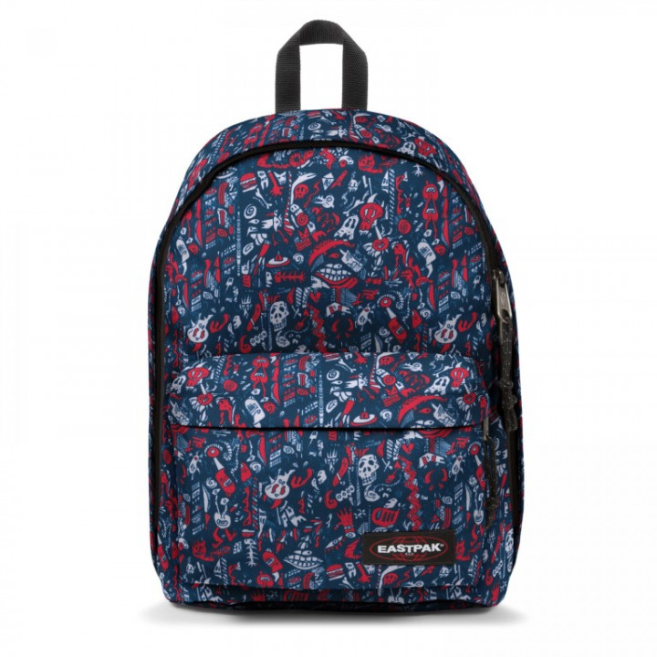 Eastpak Out Of Office Scribble Red - Medium