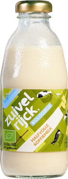 Zuivelrijck Semi skimmed milk 186ml