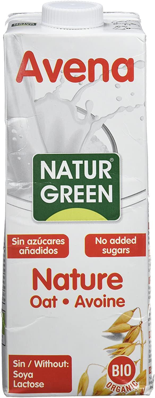 NATUR GREEN Oat Milk Natural 1L BIO