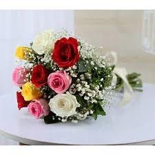 10 Mix Roses Bouquet