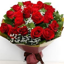 20 Roses Red Bouquet