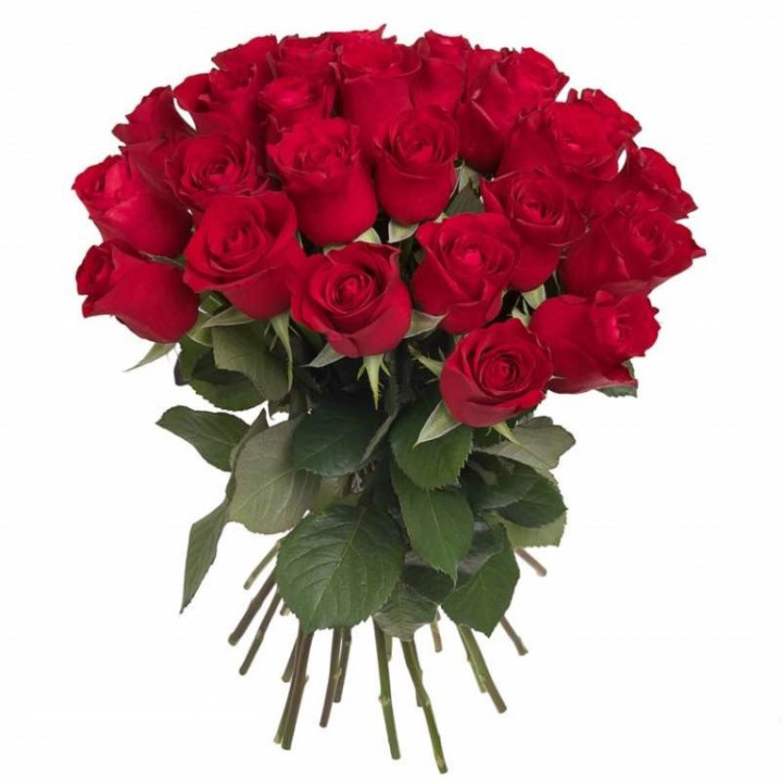 30 Roses Red Bouquet