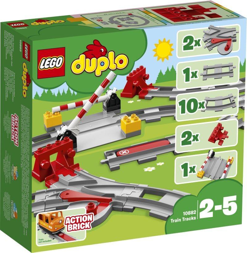LEGO DUPLO TOWN 10882 TRAIN TRACKS