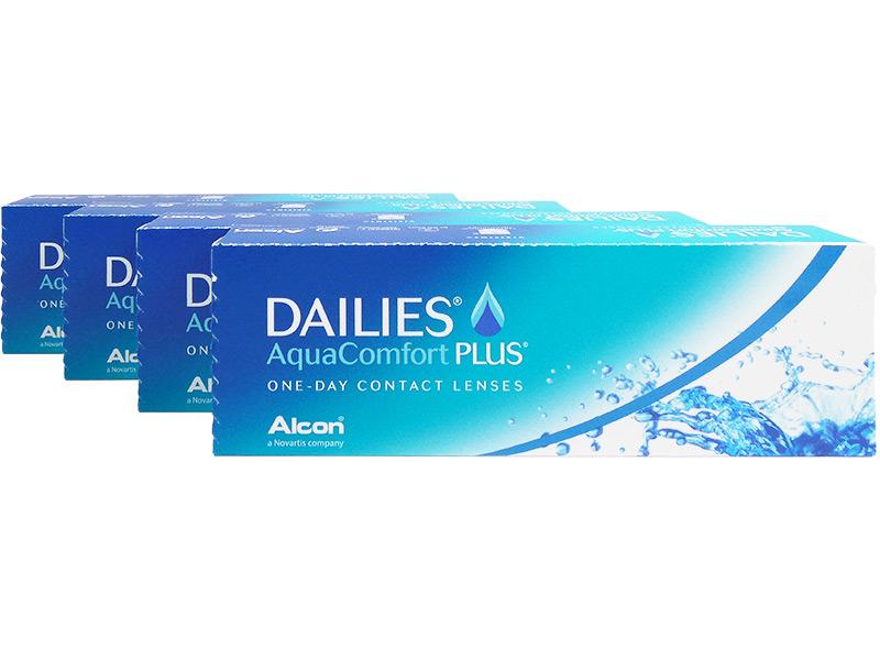 Dailies Aquacomfort Plus (120 Lenses) -2.00