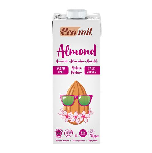 Ecomil Almond milk sugar-free protein  1 L