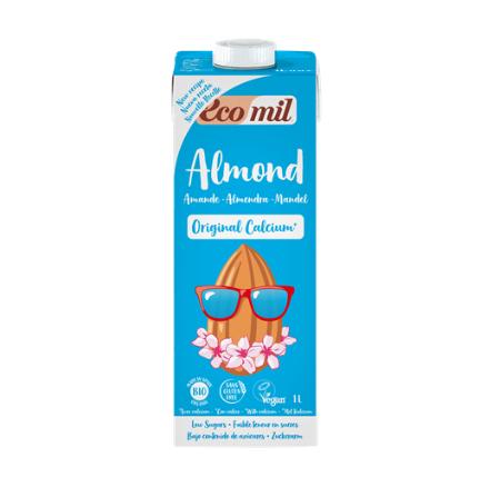 Ecomil Almond milk Original calcium Bio 1 L
