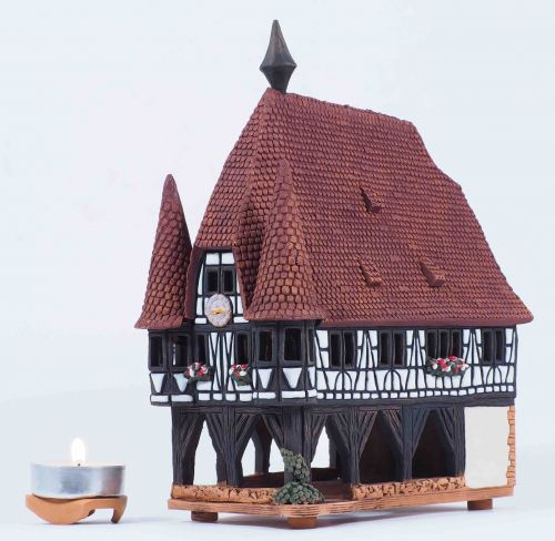 TOWN HALL IN MICHELSTADT, GERMANY