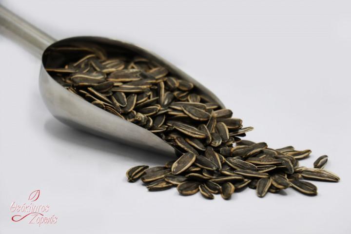 Sunflower Seeds whole Cooked without Salt / Ηλιόσπορος σωστός ψημένος χωρίς αλάτι - 0.5kg