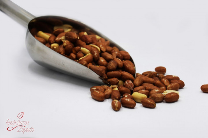 Cypriot Peanuts cooked without Salt / Κυπριακές Φυστικόκκουνες ψημένες χωρίς αλάτι - 1kg